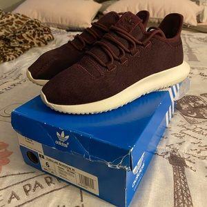 Burgundy Adidas Sneakers